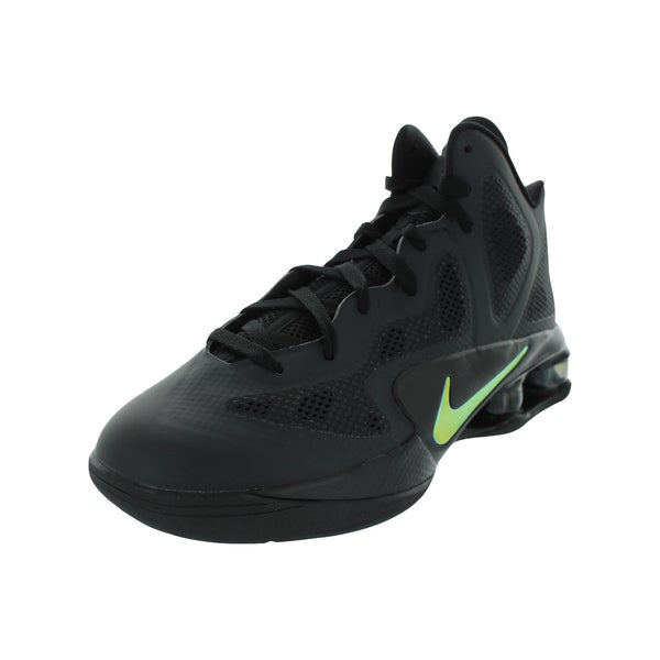 Nike Shox Air Hyperballer Basketball Shoes (Black/ Luster Dark Grey)