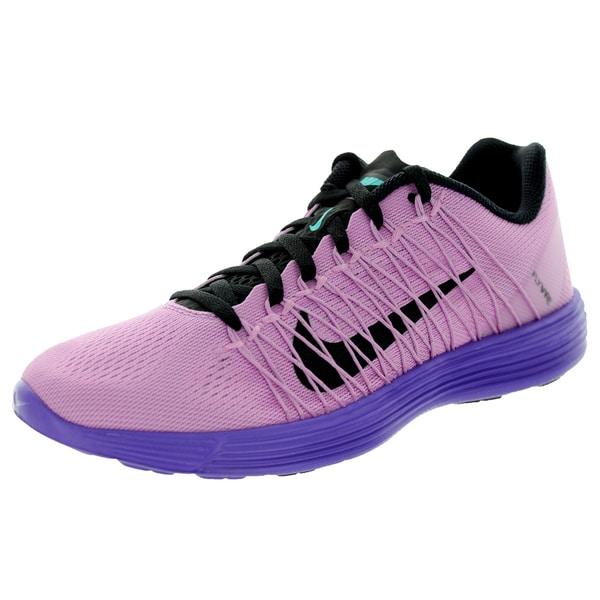 Nike Women's Lunaracer+ 3 Lt Magenta/Black/ Jd Running Shoe
