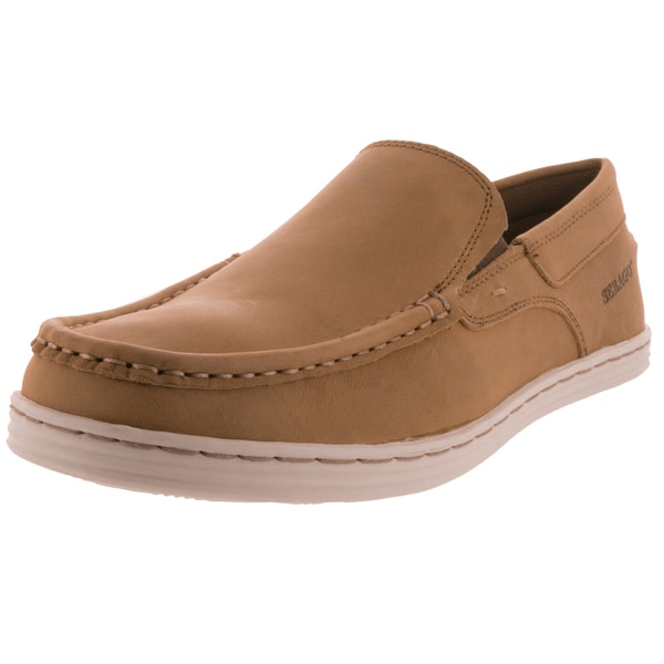 Sebago Men's Baet Slip On Tan Loafers & Slip-Ons Shoe