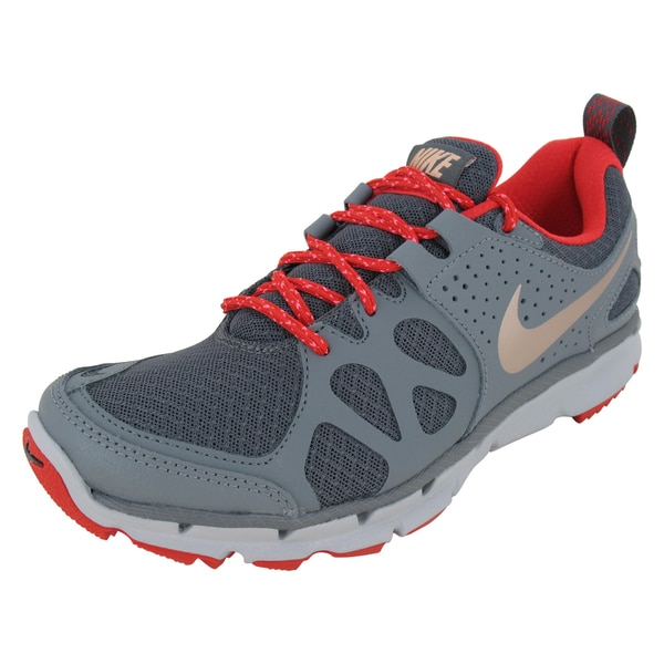 Nike Flex Trail Women's Running Shoes (Dark Grey/ Rd Bz/Grey/Wl)
