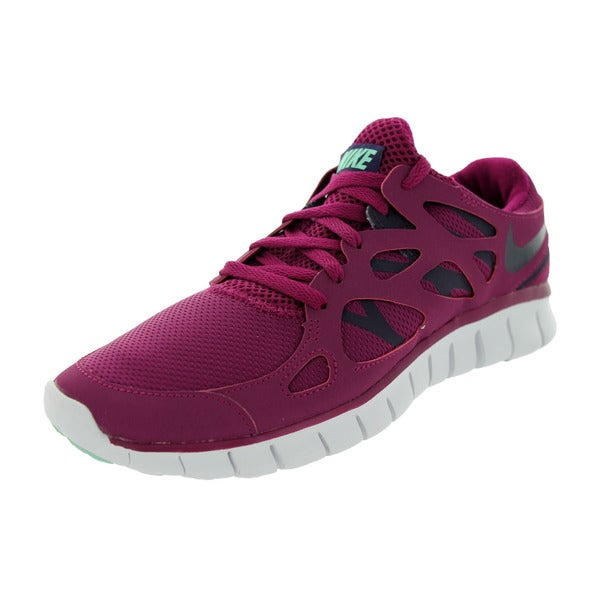 Nike Women's Free Run 2 Ext Rspbrry Rd/Purple/G Glw Running Shoe