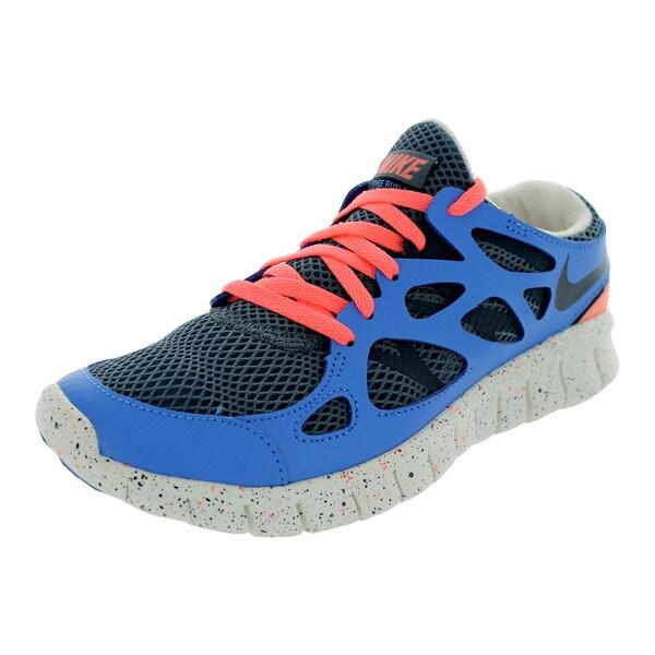 Nike Women's Free Run 2 Ext Armry Slt/Armry Navy/Dstnc Bl/A Running Shoes