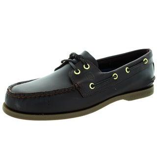 Sperry Top-Sider Men's Authentic Original 2-Eye Amaretto Boat Shoe