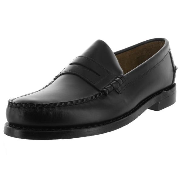 Sebago Men's Classic E Black Loafers & Slip-Ons Shoe