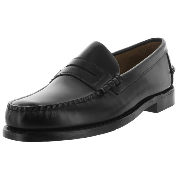 Sebago Men's Classic E Black Loafers & Slip-Ons Shoe
