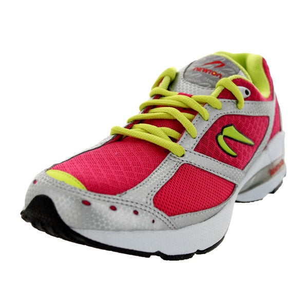 Newton Running Women's Lady Isaac S Rubine/Lime Running Shoe