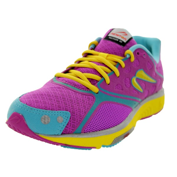 Newton Running Women's Motion Iii Purple/Aqua/Yellow Running Shoe