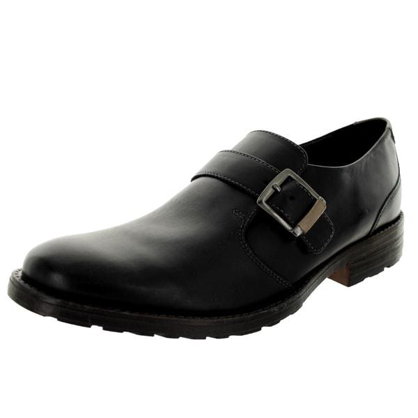 Clarks Men's Denton Step Black Casual Shoe