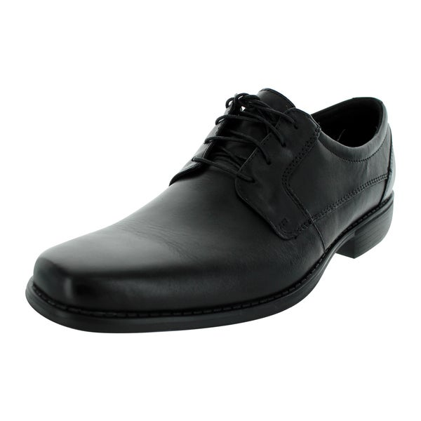 Bostonian Men's Nicky Plain Toe Black Casual Shoe