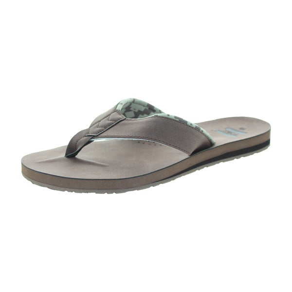 Toms Men's Carilo Flip Flop Brown Sandal