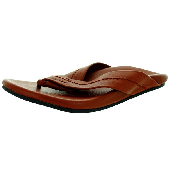 Toms Men's Semana Flip Flop Brown Sandal