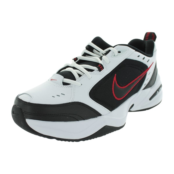 Nike Air Monarch Iv Running Shoes (White/Black/Varsity Red)