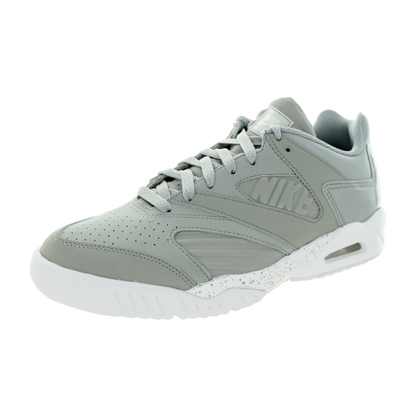 Nike Men's Air Tech Challenge Iv Low Wolf Grey/White Tennis Shoe
