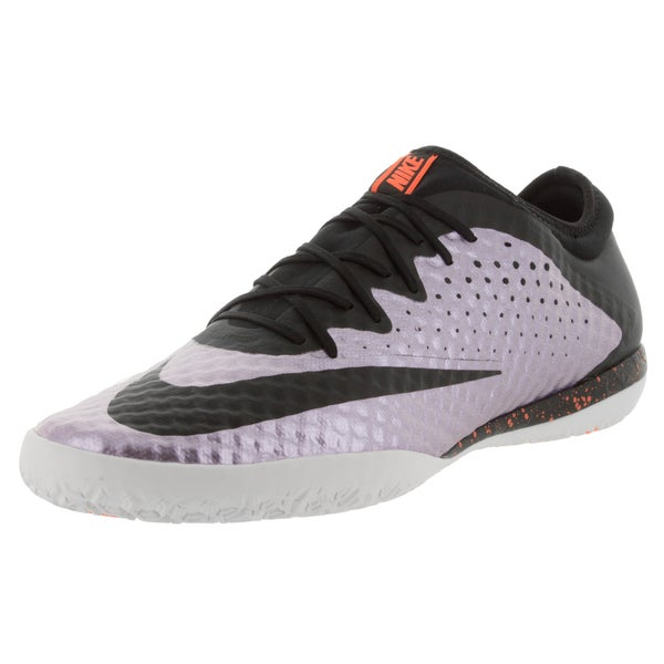 Nike Men's Mercurialx Finale Ic Urban Lilac/Black/Brightt Mango Indoor Soccer Shoe