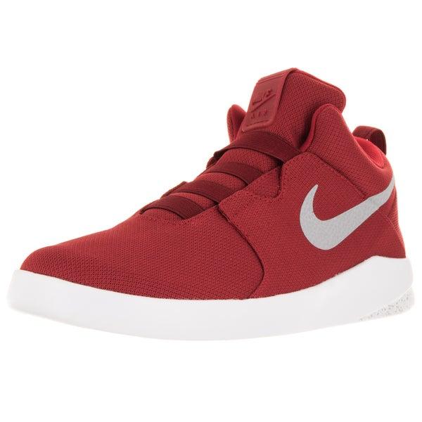 Nike Men's Air Shibusa Gym Red/Wolf Grey/White Basketball Shoe
