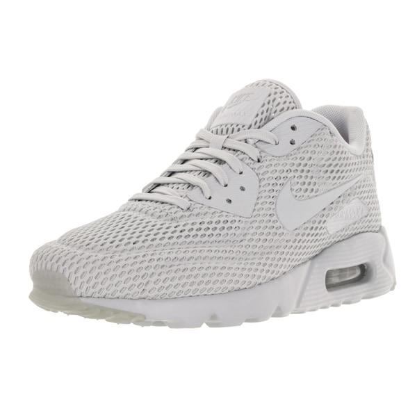 Nike Men's Air Max 90 Ultra Br Pr Platinum/ Running Shoe