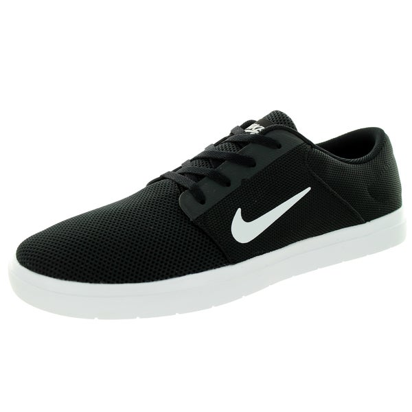 Nike Men's Sb Portmore Renew Black/White/Anthracite Skate Shoe