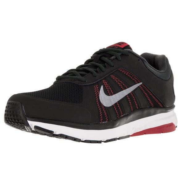 Nike Men's Dart 12 (4E) Black/ Cl/University Red/Ant Running Shoe