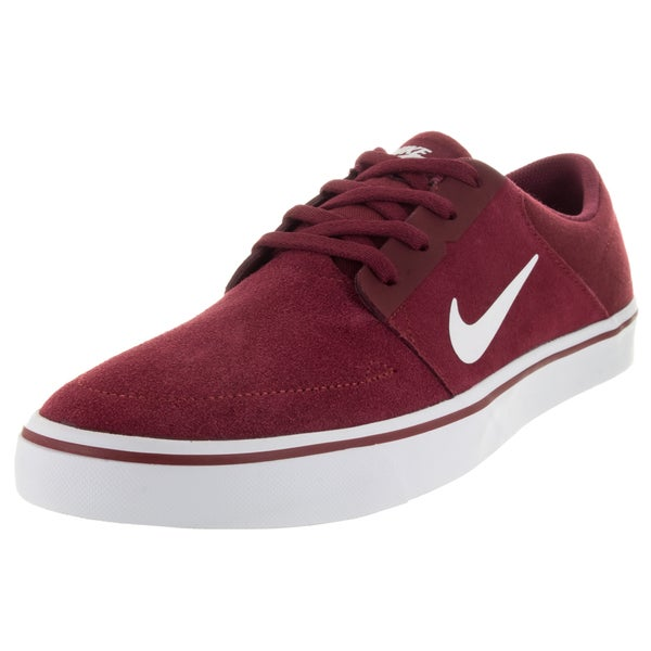 Nike Men's Sb Portmore Team Red/White Skate Shoe