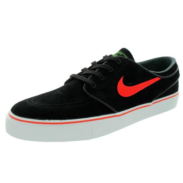 Nike Men's Zoom Stefan Janoski Black/L/G Pls/ Skate Shoe