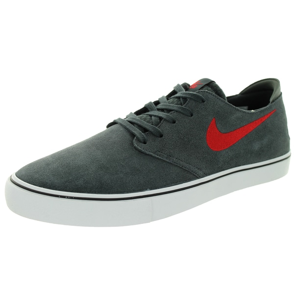 Nike Men's Oneshot Sb Anthracite/Gym Red/Black/White Skate Shoe