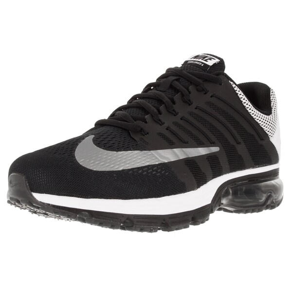 Nike Men's Air Max Excellerate 4 Prt Black/Reflect Silver/White/ Running Shoe