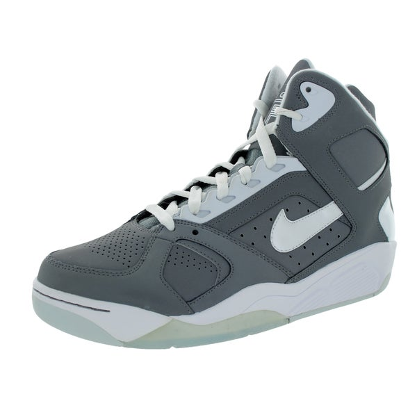 Nike Men's Air Flight Lite High Cool Grey/White/Pure Platinum Basketball Shoe