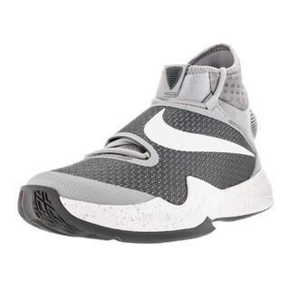 Nike Men's Zoom Hyperrev 2016 Wolf Grey/White/Cool Grey Basketball Shoe