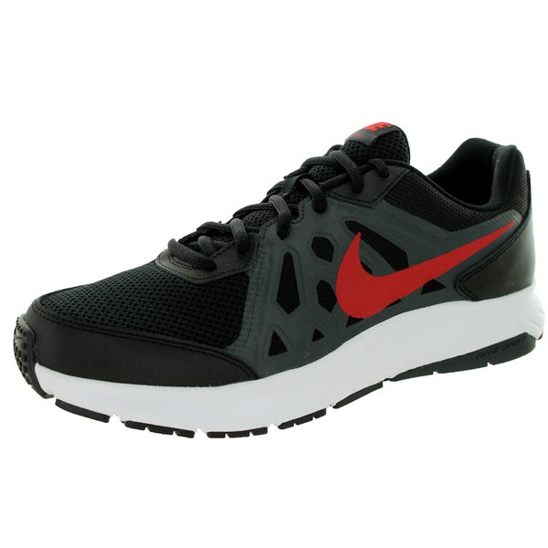 Nike Men's Dart 11 Black/University Red/Anthrct/White Running Shoe