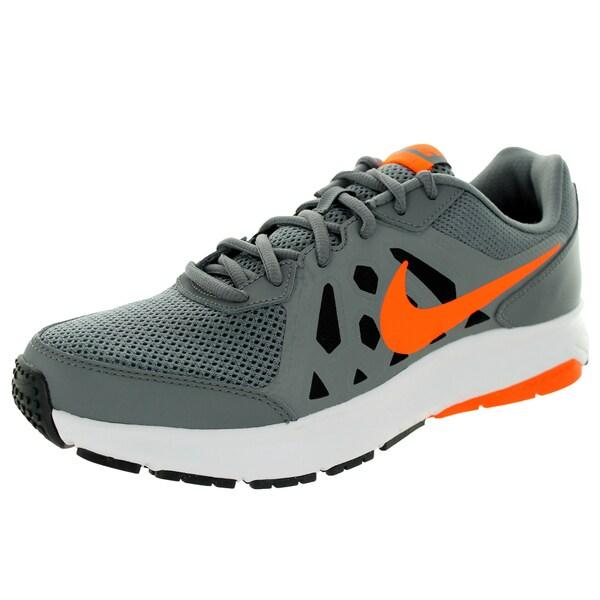 Nike Men's Dart 11 Cl Grey/Orange/Dark Grey/White Running Shoe