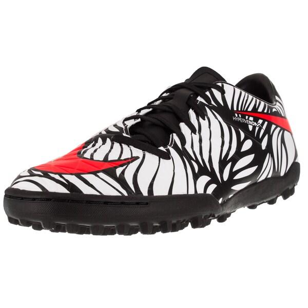 Nike Men's Hypervenom Phelon Ii Njr Tf Black/Brightt Crimson/White Turf Soccer Shoe