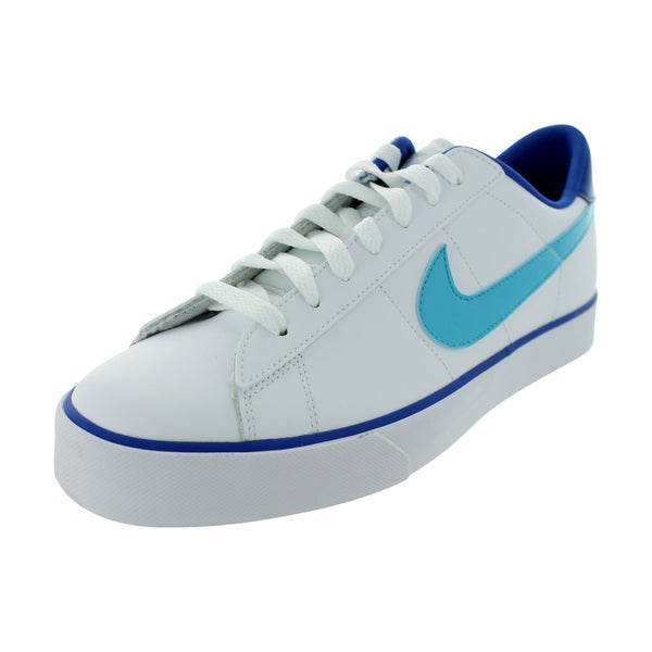 Nike Men's Sweet Classic Leather White/Gamma Blue/Game Royal Casual Shoe