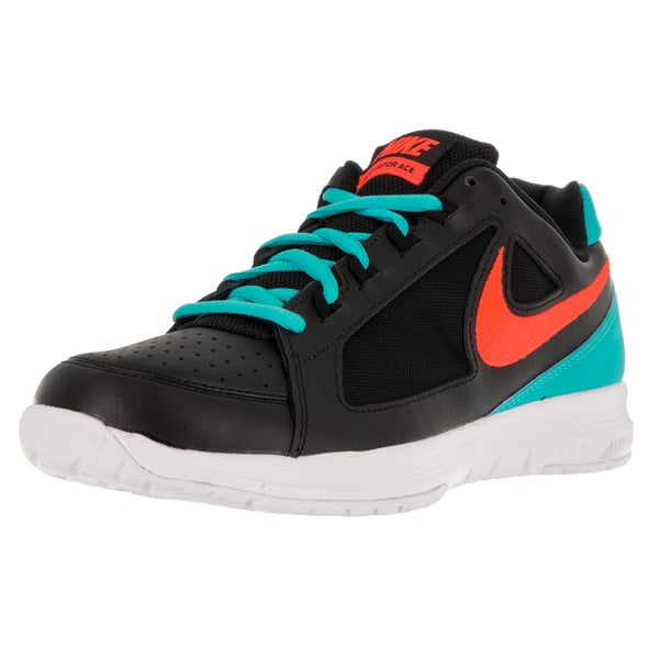 Nike Men's Air Vapor Ace Black/T Crimson/Gmm Bl/White Tennis Shoe