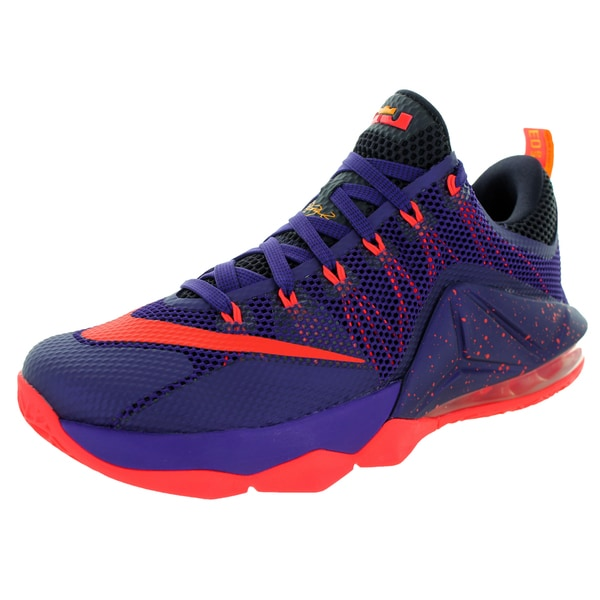 Nike Men's Lebron Xii Low Purple/Brgh/Cv Purple/L Basketball Shoe