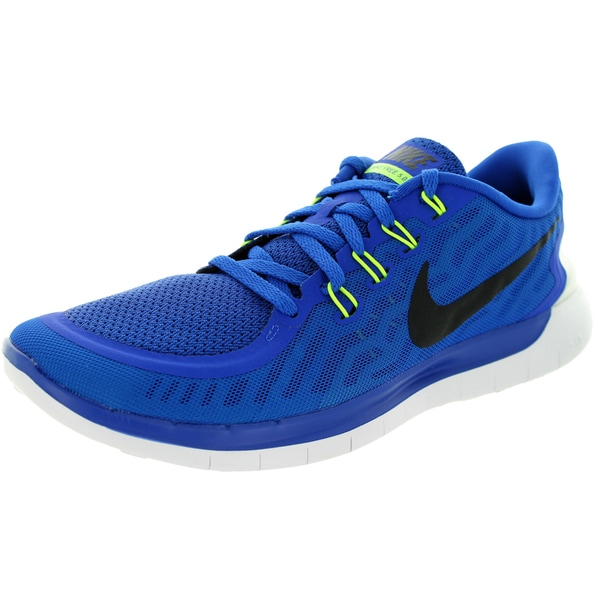 Nike Men's Free 5.0 Game Royal/Black Running Shoe