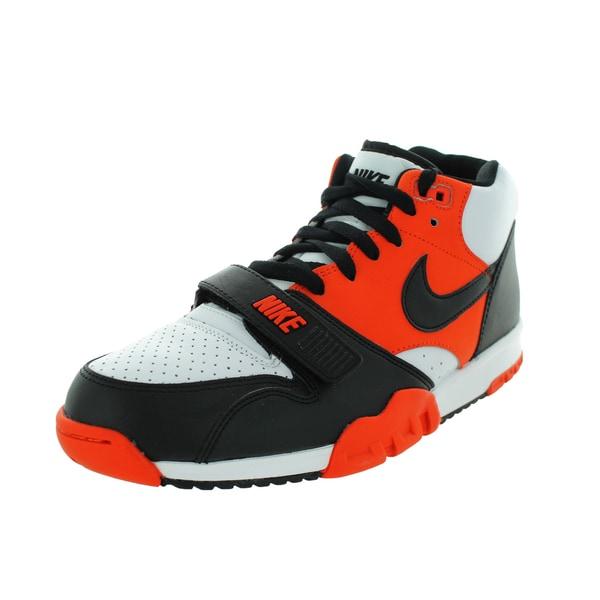 Nike Men's Air Trainer 1 Mid Team Orange/Black/White Training Shoe