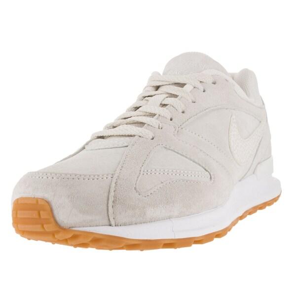 Nike Men's Air Pegasus New Racer Prm Phantom/Phantom/White/Gm Yllw Running Shoe