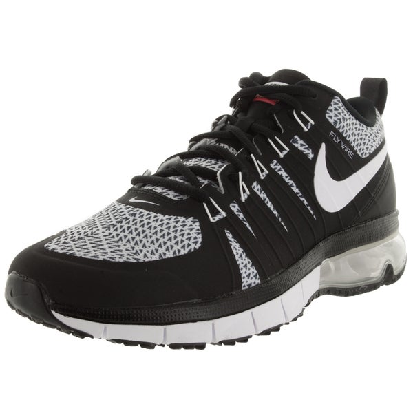 Nike Men's Air Max Tr180 Amp Black/White/Brightt Crimson Training Shoe