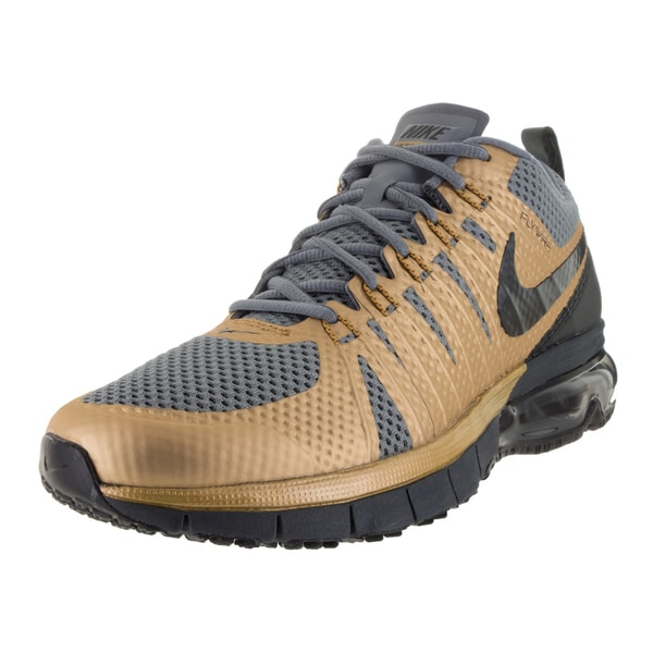 Nike Men's Air Max Tr180 Mlc Gold/Black/Grey/Anthrct Training Shoe