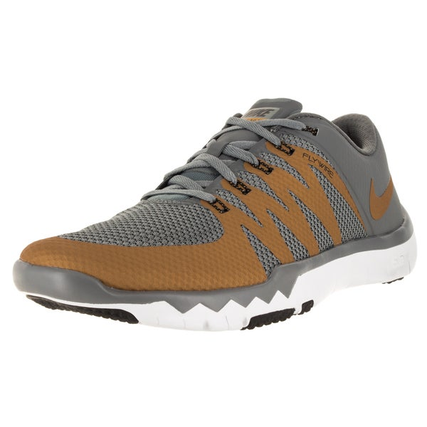 Nike Men's Free Trainer 5.0 V6 Cool Grey/Mlc Gold/White/Black Training Shoe