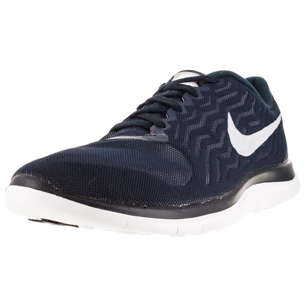 Nike Men's Free 4.0 Obsidian/Wolf Grey/White Running Shoe