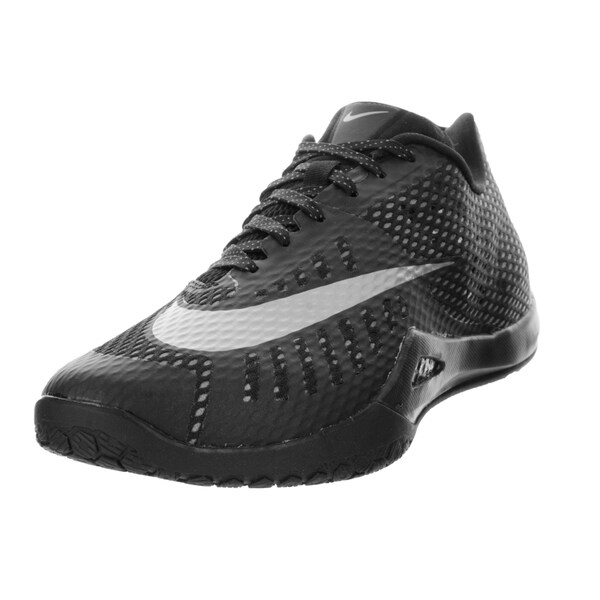 Nike Men's Hyperlive Black/Metallic Silver/Dark Grey/Grey Basketball Shoe