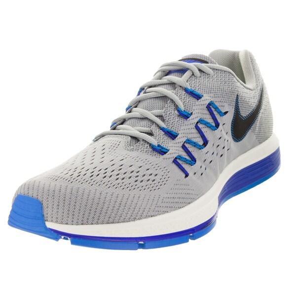 Nike Men's Air Zoom Vomero 10 Wolf Grey/Black/Dark Grey/ Running Shoe