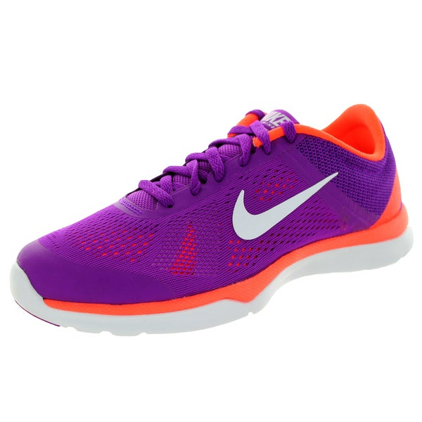 Nike Women's In-Season Tr 5 Vvd Purple/White/ Orange/Fchs Training Shoe