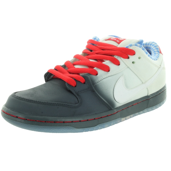 Nike Men's Dunk Low Premium Sb Dk Magenta Grey/White/University Red Skate Shoe
