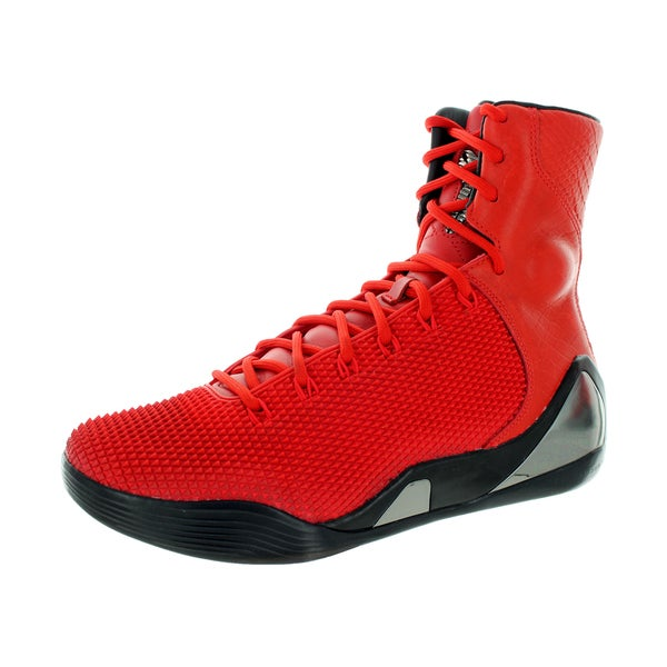 Nike Men's Kobe Ix High Krm Ext Qs Challenge Red/Challenge Red Basketball Shoe