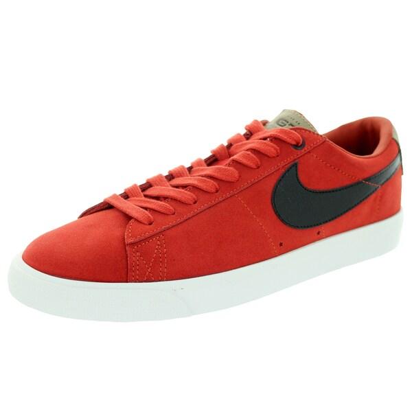 Nike Men's Blazer Low Gt Qs Cinnabar/Black/Bamboo Skate Shoe