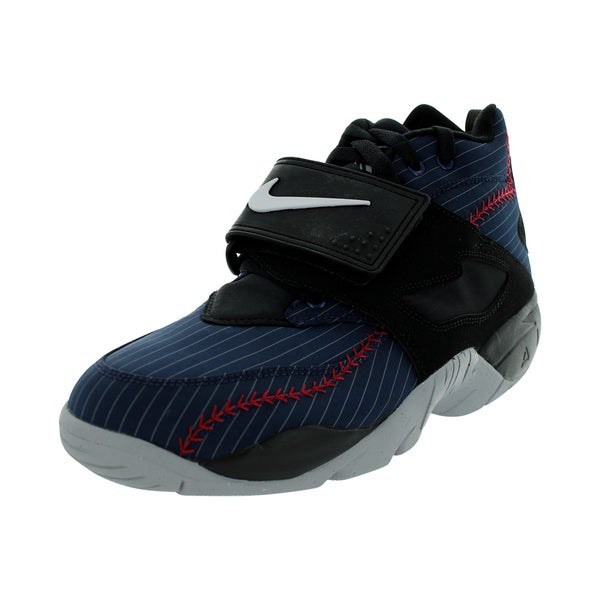 Nike Men's Air Diamond Turf Mid Navy/White/Black/Grey Training Shoe