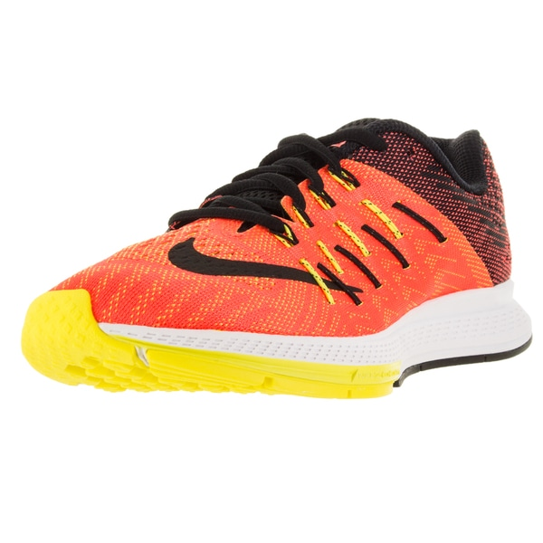 Nike Women's Air Zoom Elite 8 Hyper Orange/Black/Opt Yllw/Lt Vlt Running Shoe