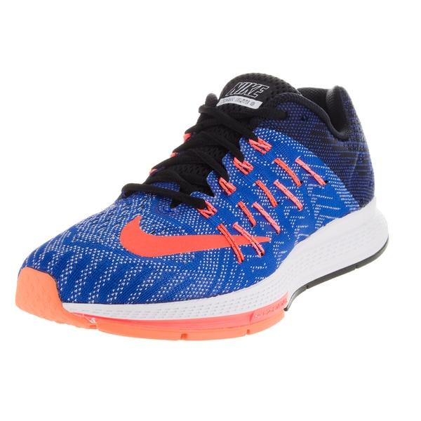 Nike Women's Air Zoom Elite 8 Racer Blue/ Orange/Black Running Shoe